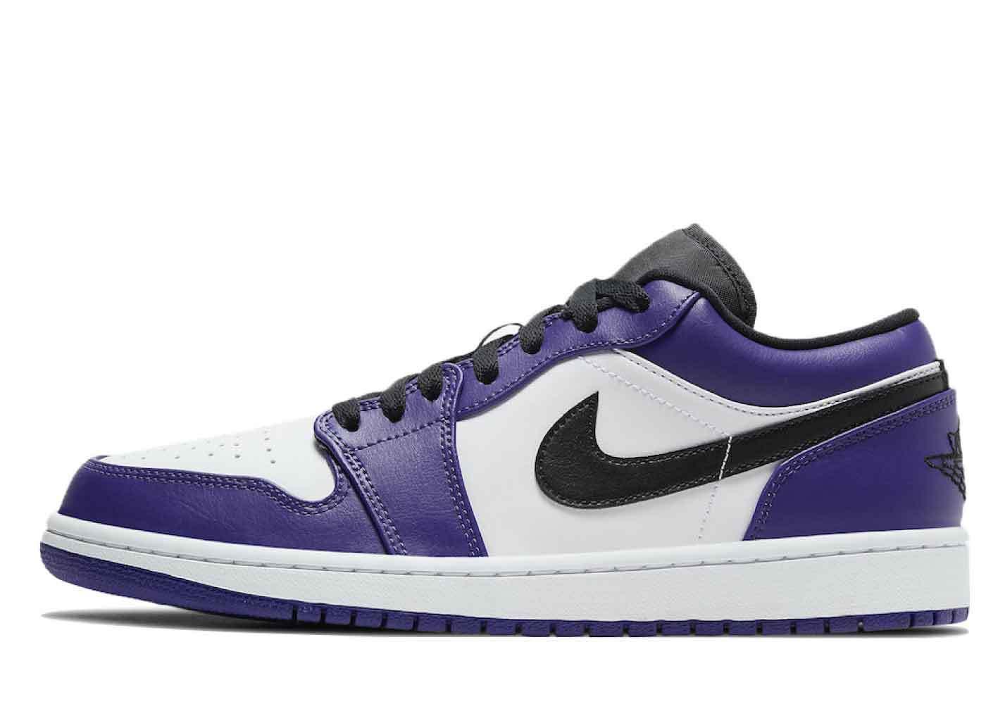 Nike Air Jordan 1 Low Court Purpleを