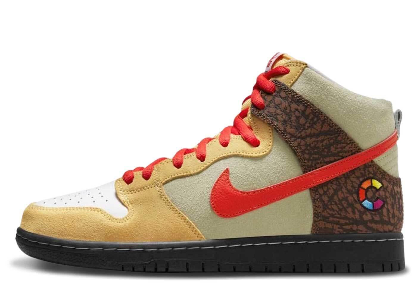 Color Skates × Nike SB Dunk High Kebab and Destroyの写真