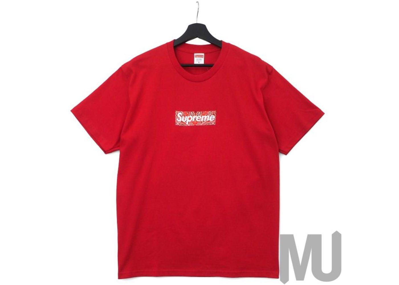 Supreme Bandana Box Logo Tee Redの写真