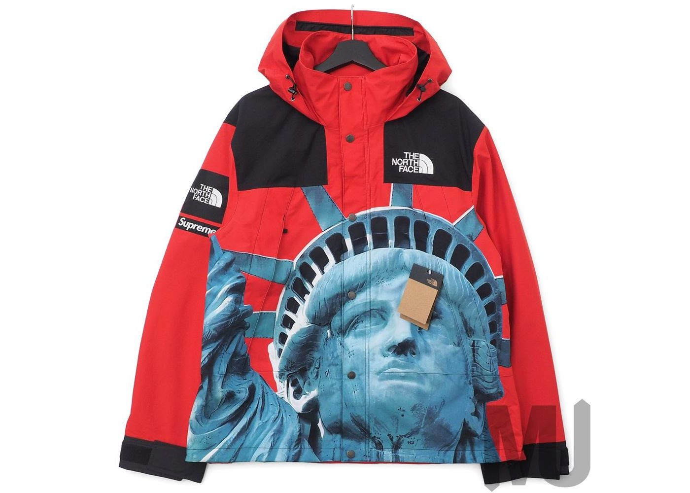 Supreme The North Face Statue of Liberty Mountain Jacket Redの写真