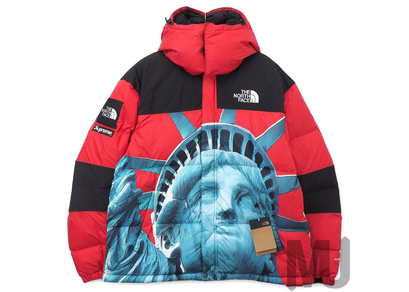 Supreme The North Face Statue of Liberty Baltoro Jacket Redの写真