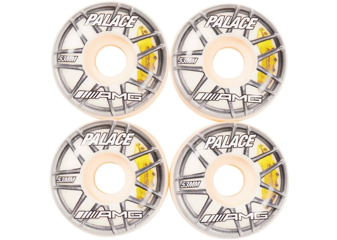 Palace AMG 53MM Wheels White (SS21)の写真