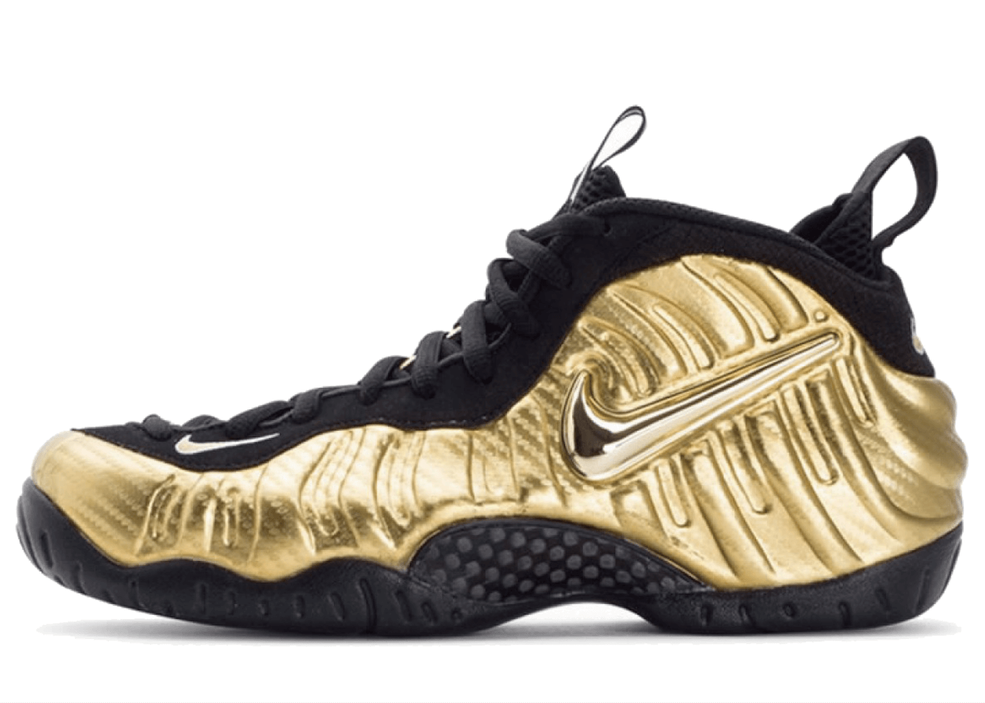 Air Nike Foamposite Pro Metallic Goldの写真