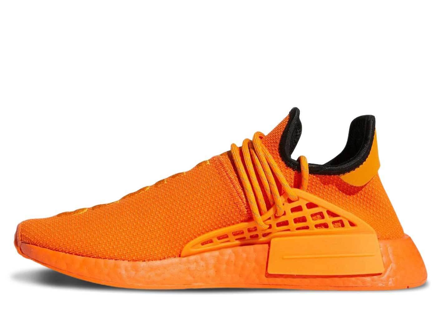 Pharrell Williams × adidas NMD Hu Orangeの写真