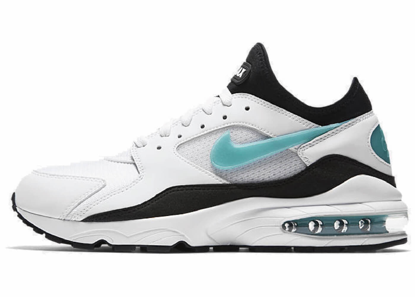 AIR MAX 93 AUDACIOUS AIR WHITE/SPORTS TURQUOISE (2018)の写真