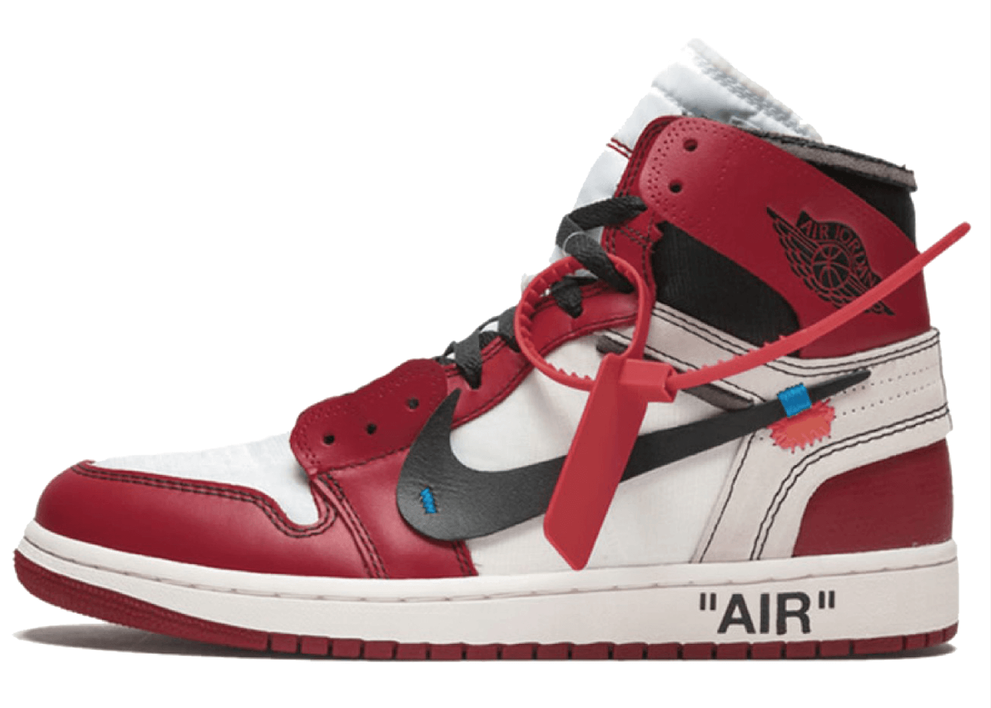 Off-White × Nike The 10 Air Jordan 1 Retro High  Chicagoの写真