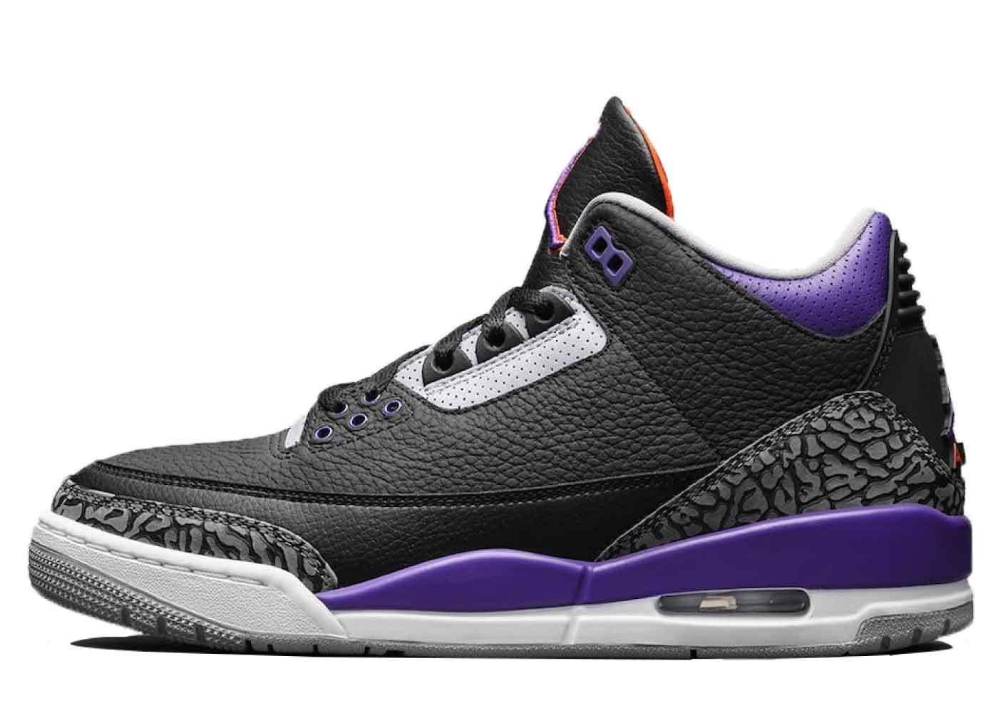 Nike Air Jordan 3 Retro Court Purpleの写真
