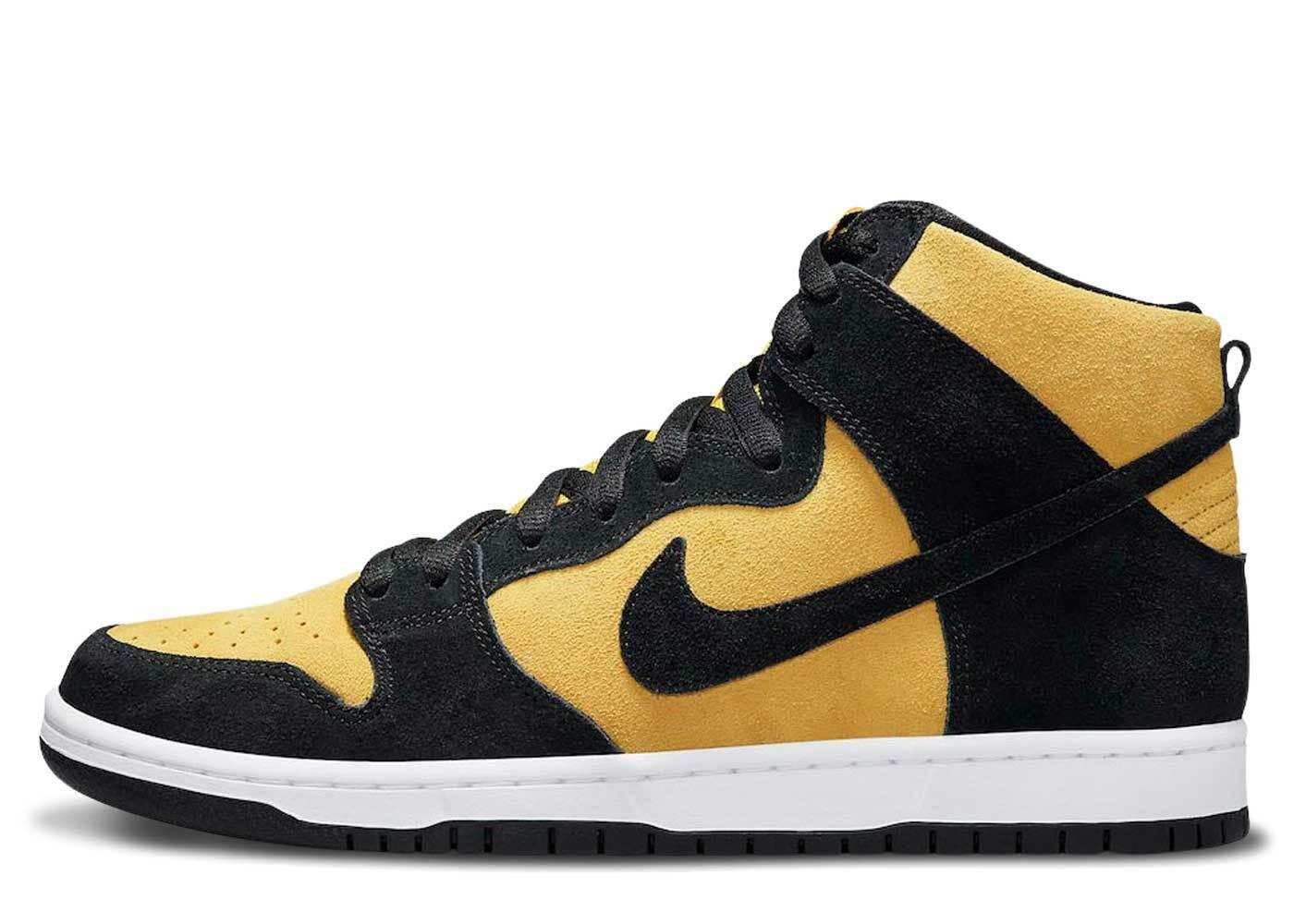 Nike SB Dunk High Maize And Blackの写真