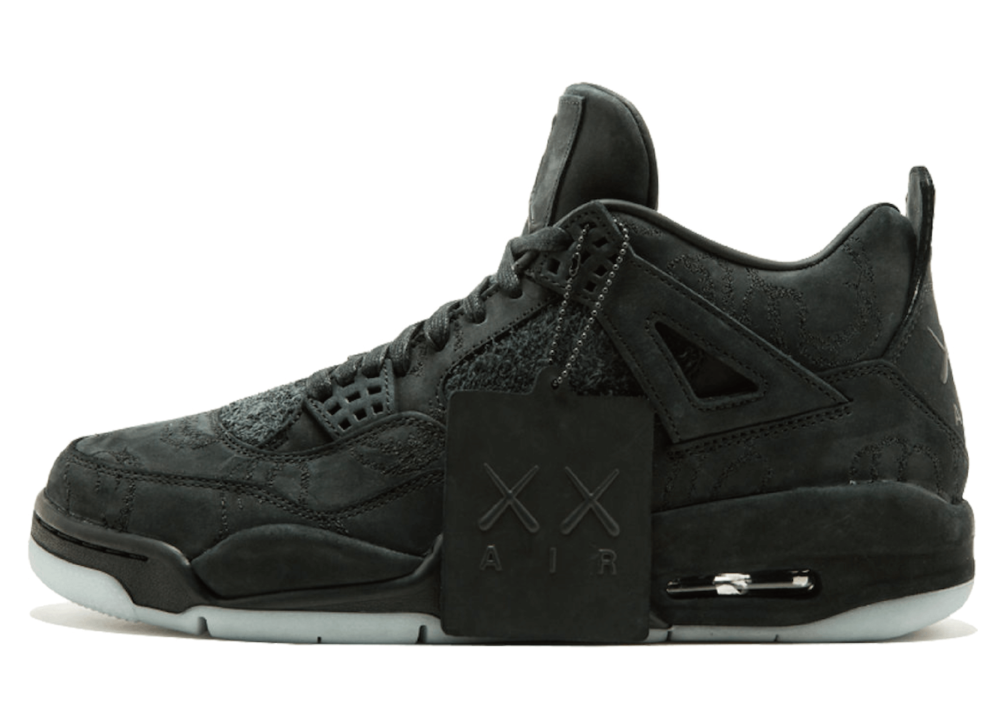 Kaws × Nike Air Jordan 4 Retro Blackの写真