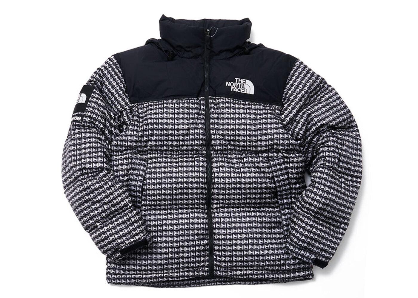 Supreme The North Face Studded Nuptse Jacket Black (SS21)の写真