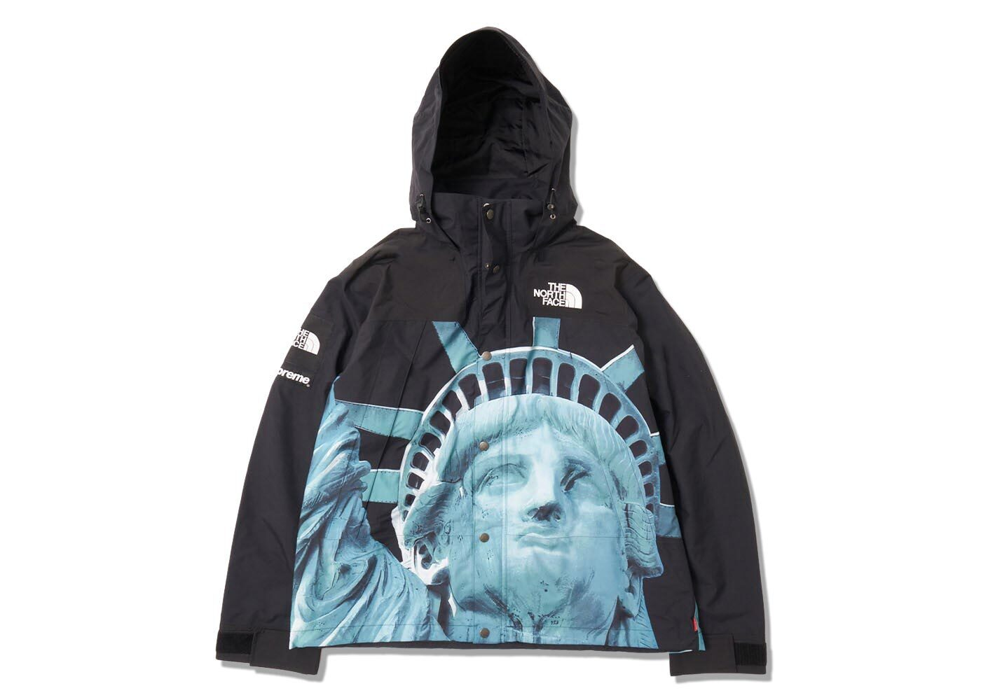 Supreme The North Face Statue of Liberty Mountain Jacket Blackの写真