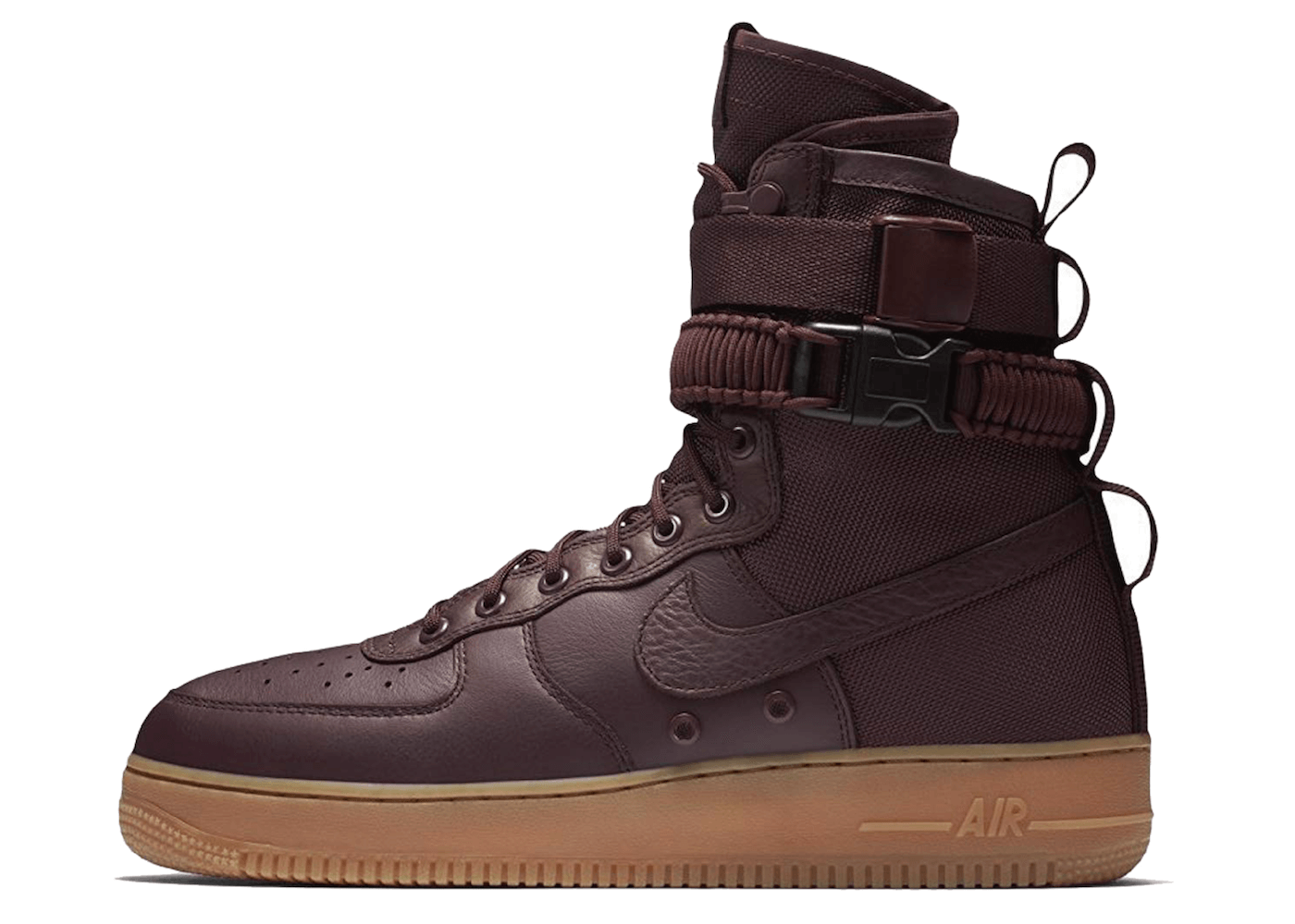 SF Air Force 1 High Deep Burgundyの写真