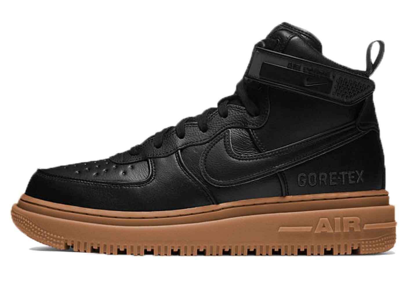 Nike Air Force 1 Gore-Tex Boot Black Gumの写真