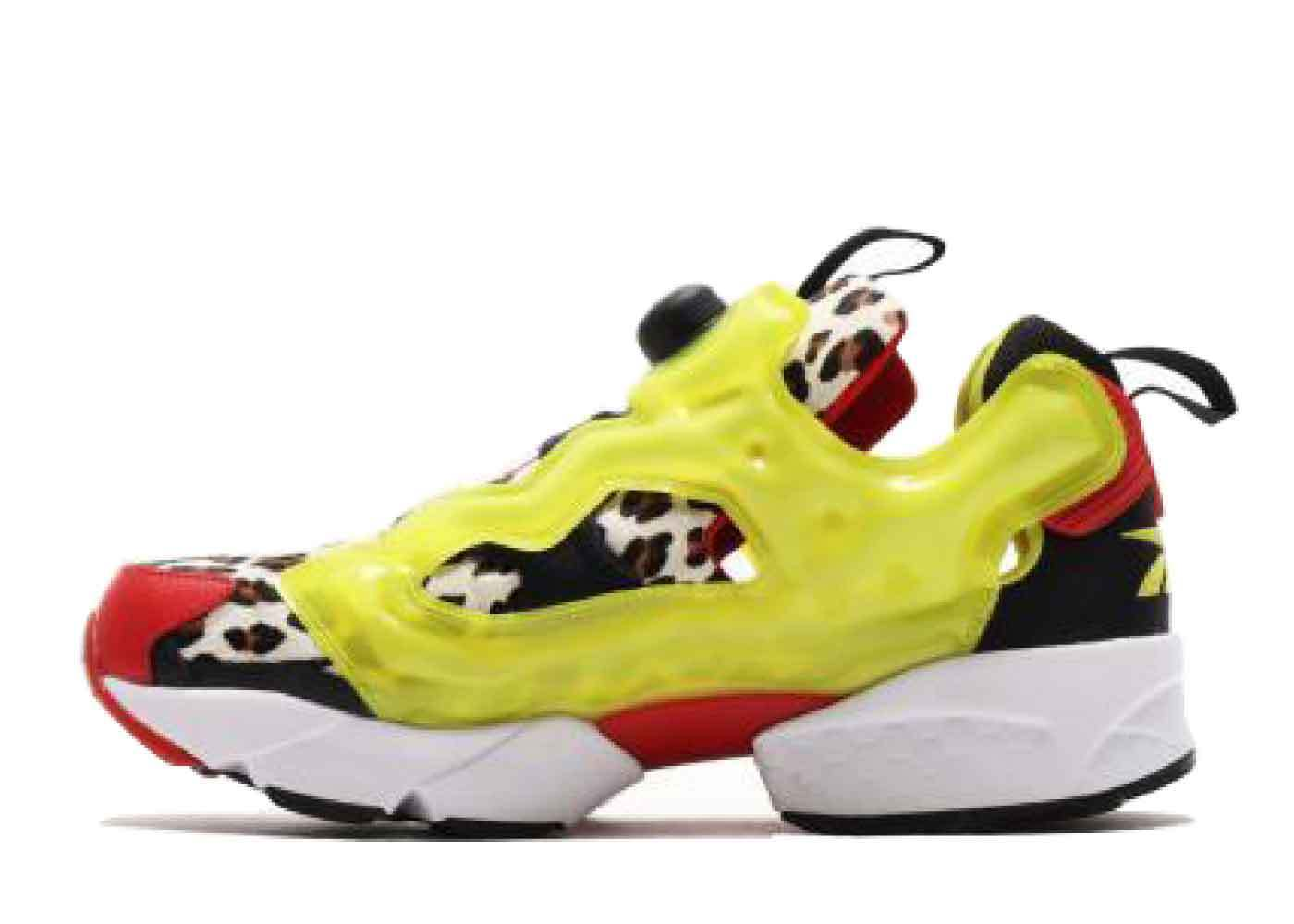 Atmos × Reebok  Instapump Fury CITRON ANIMALの写真