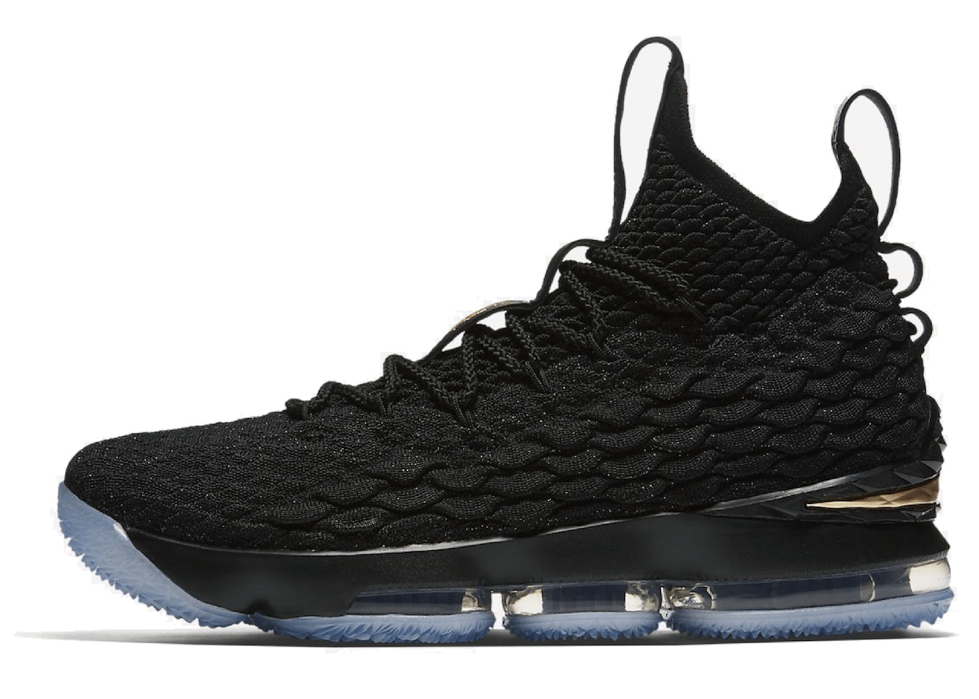 LeBron 15 Black Goldの写真
