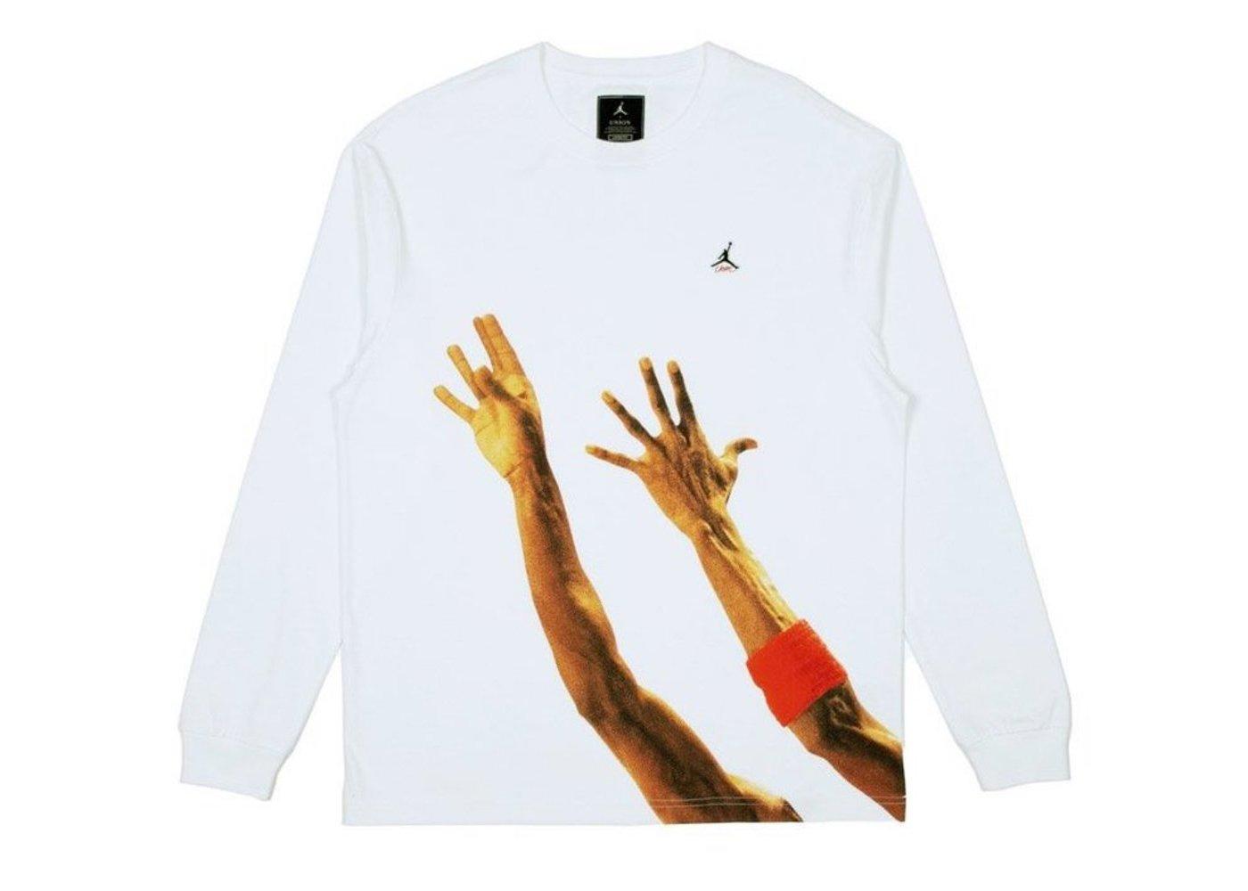 Nike Air Jordan x Union LA The J L/S T-Shirt Whiteの写真