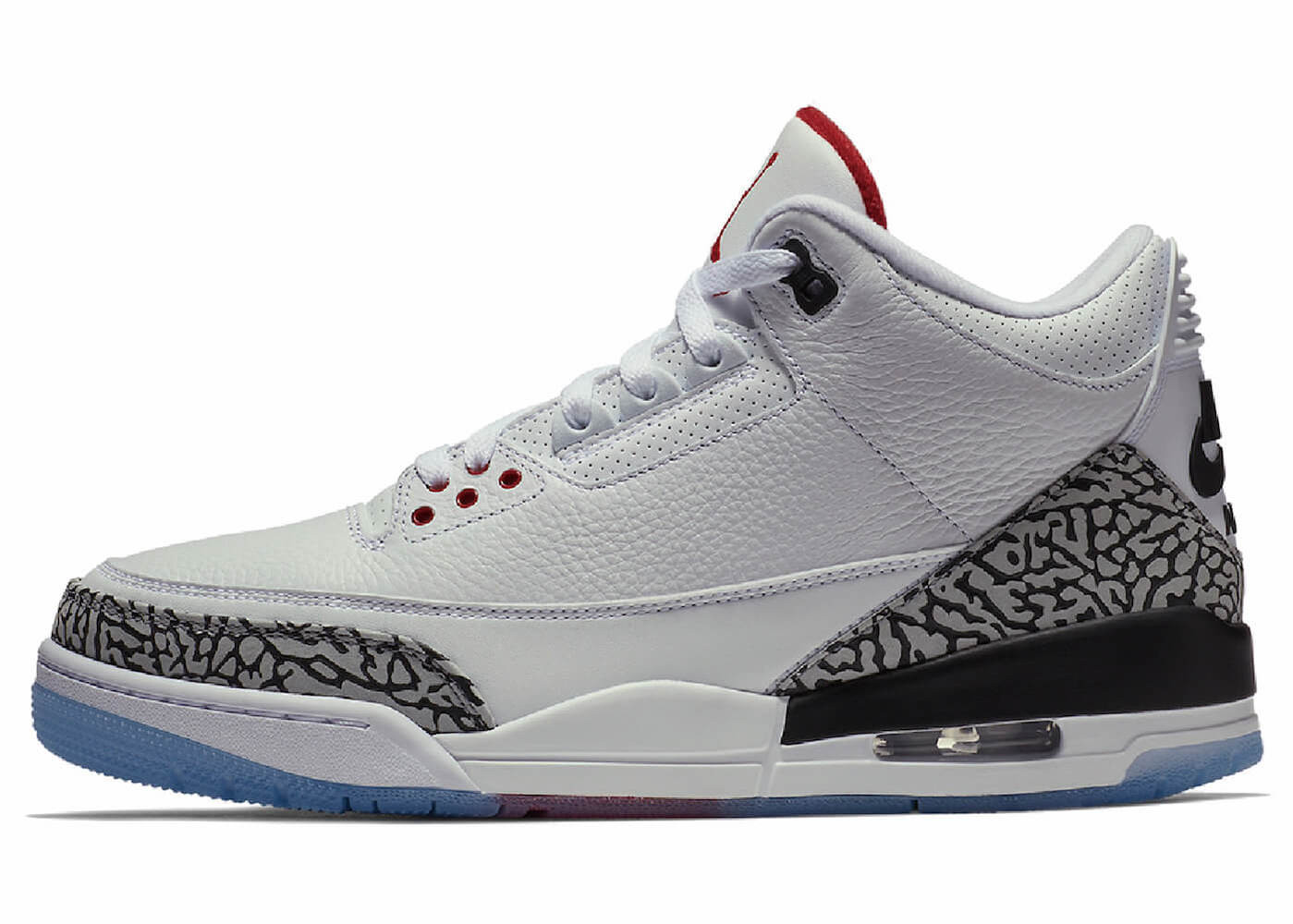 JORDAN 3 ALL-STAR WHITE/CEMENT CLEAR SOLEの写真