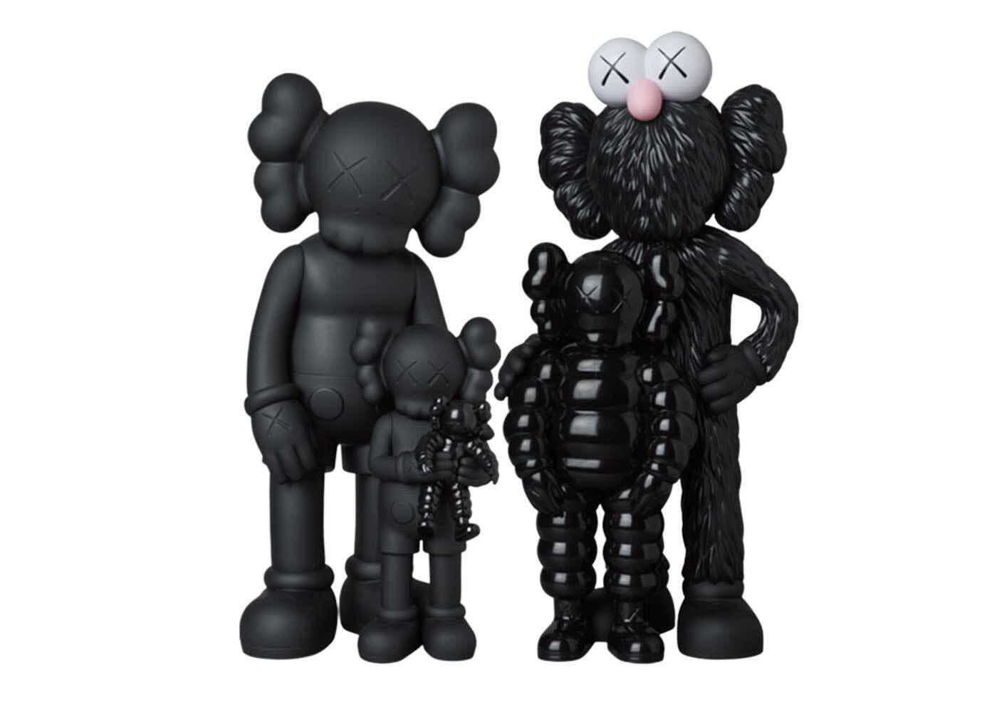 KAWS × Medicom Toy #2 Family Blackの写真