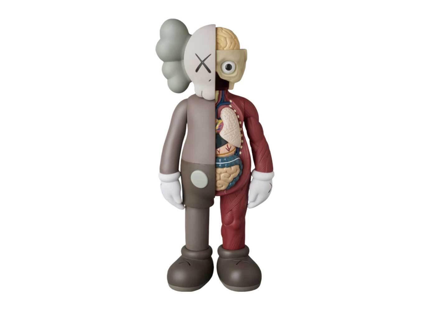 KAWS × Medicom Toy #6 Companion (Flayed) Brownの写真