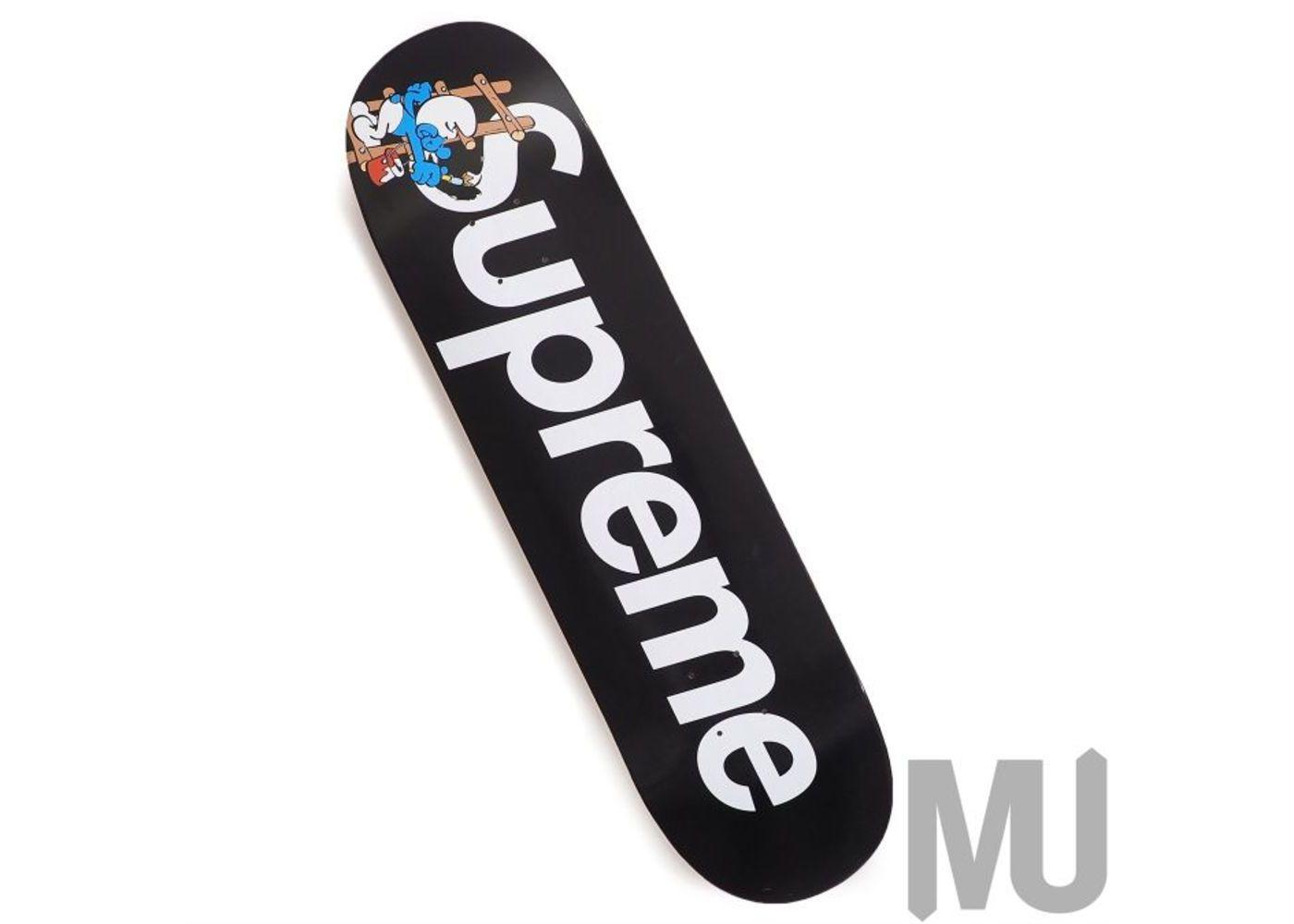 Supreme × Smurfs Skateboard  Blackの写真