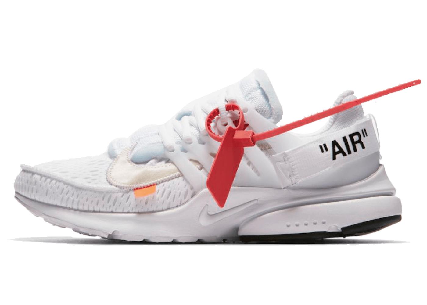 Off-White × Nike The 10 Air Presto White (2018)の写真