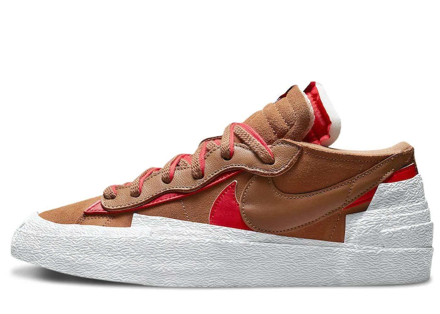 Sacai × Nike Blazer Low Light British Tanの写真