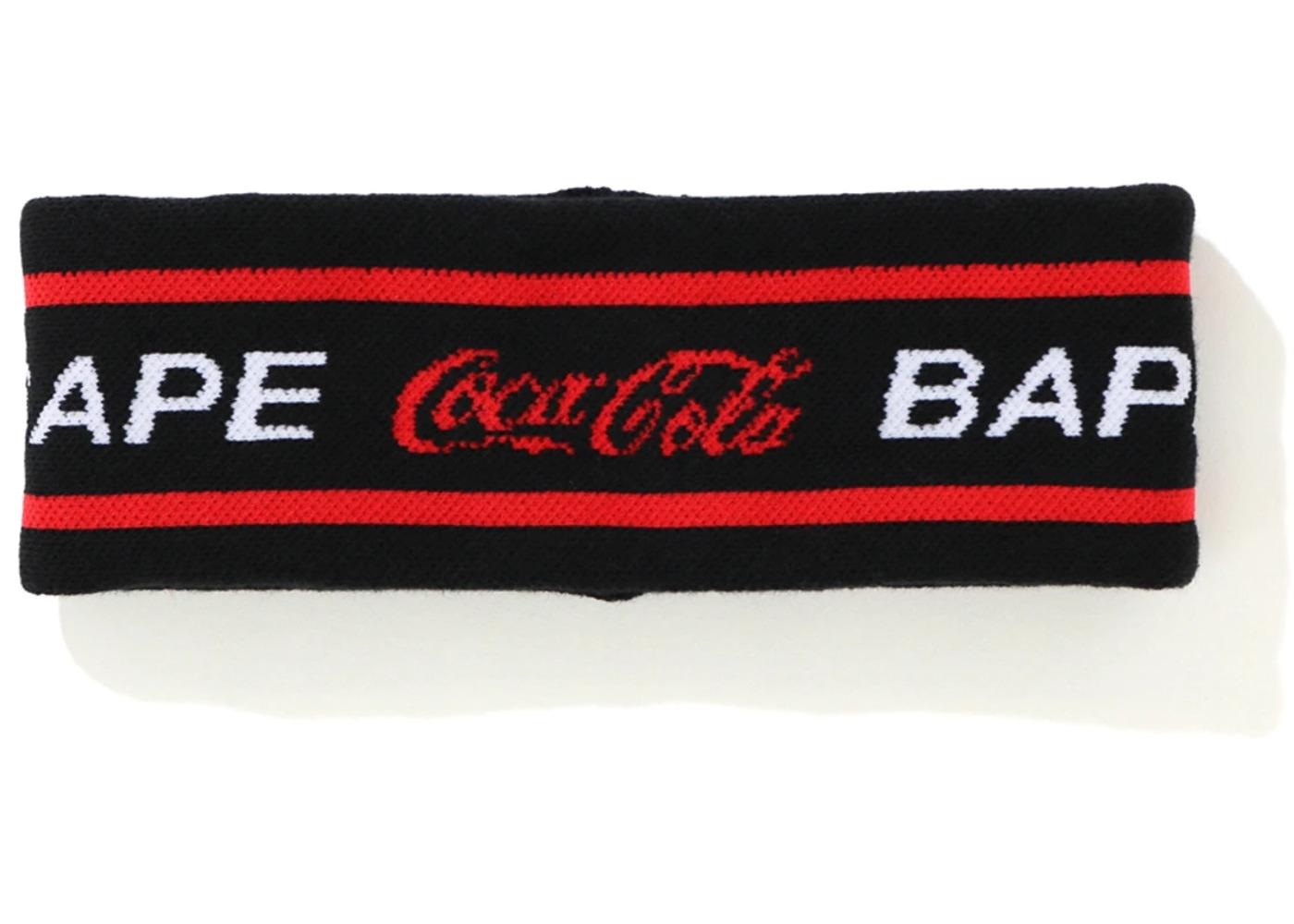 Bape x Coca Cola Headband Black (SS20)の写真