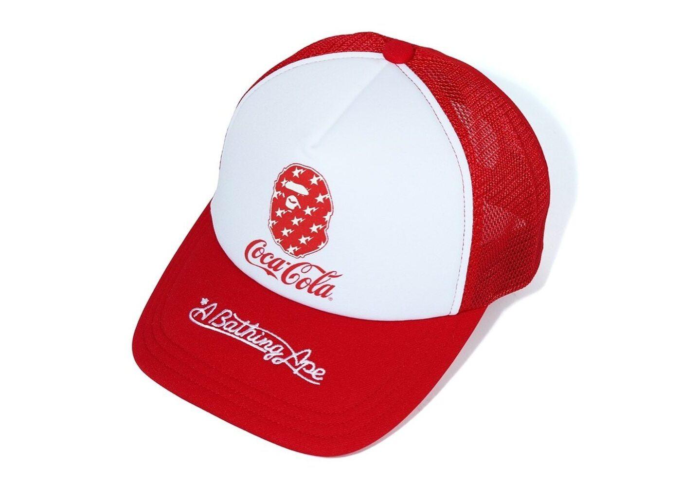 Bape x Coca Cola Mesh Cap Red (SS20)の写真