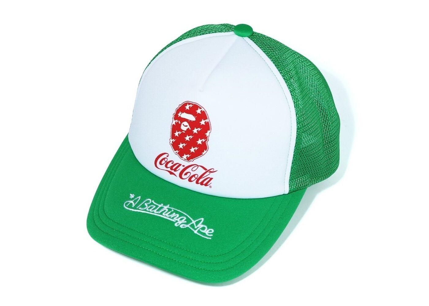 Bape x Coca Cola Mesh Cap Green (SS20)の写真