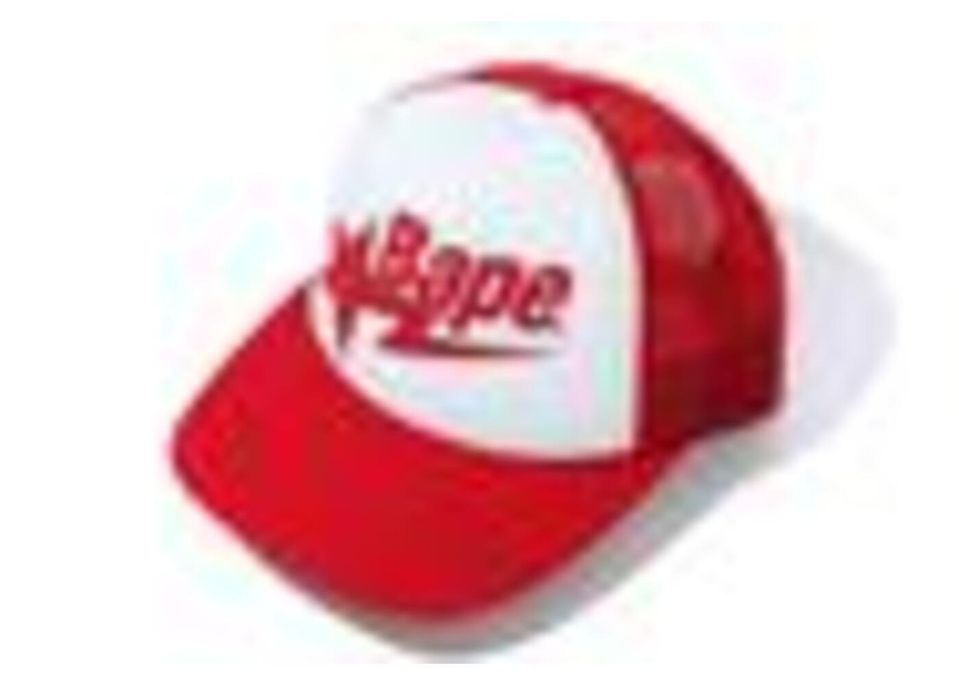 Bape Sta Mesh Cap Red (SS20)の写真
