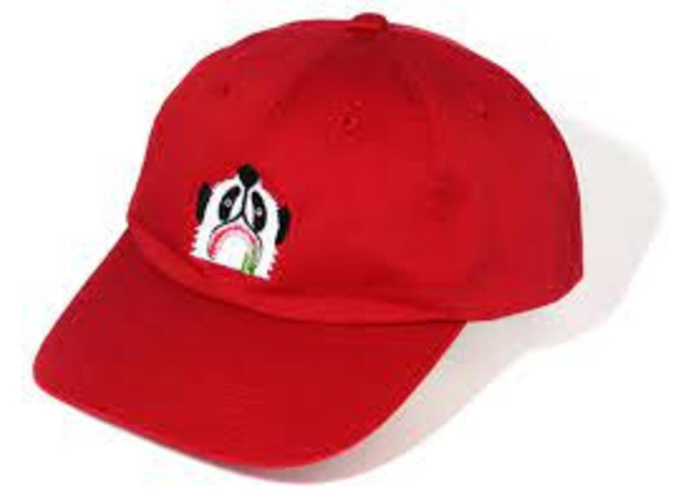 Bape Panda Cap Red (SS20)の写真