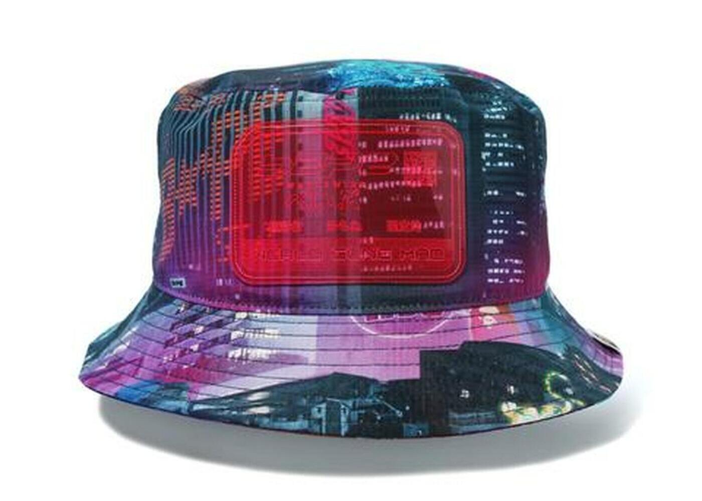 Bape Neon Tokyo Bucket Hat Black (SS20)の写真