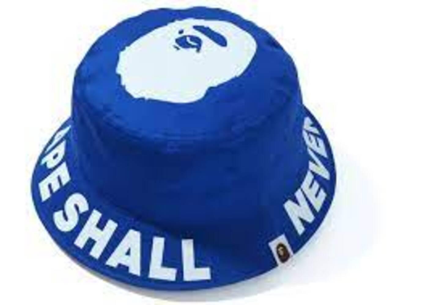 Bape ASNKA Bucket Hat Blue (SS20)の写真