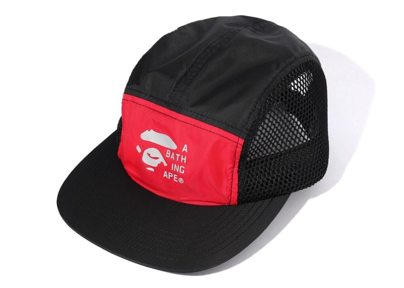 Bape 2tone Mesh Jet Cap Red (SS20)の写真