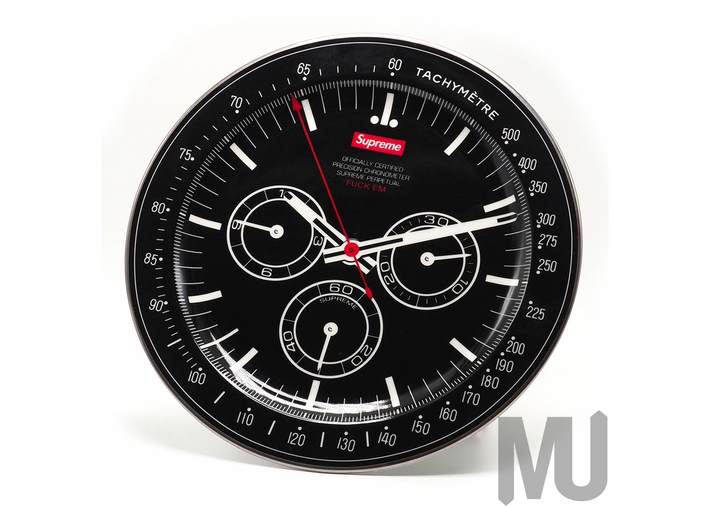 Supreme Watch Plate Blackの写真