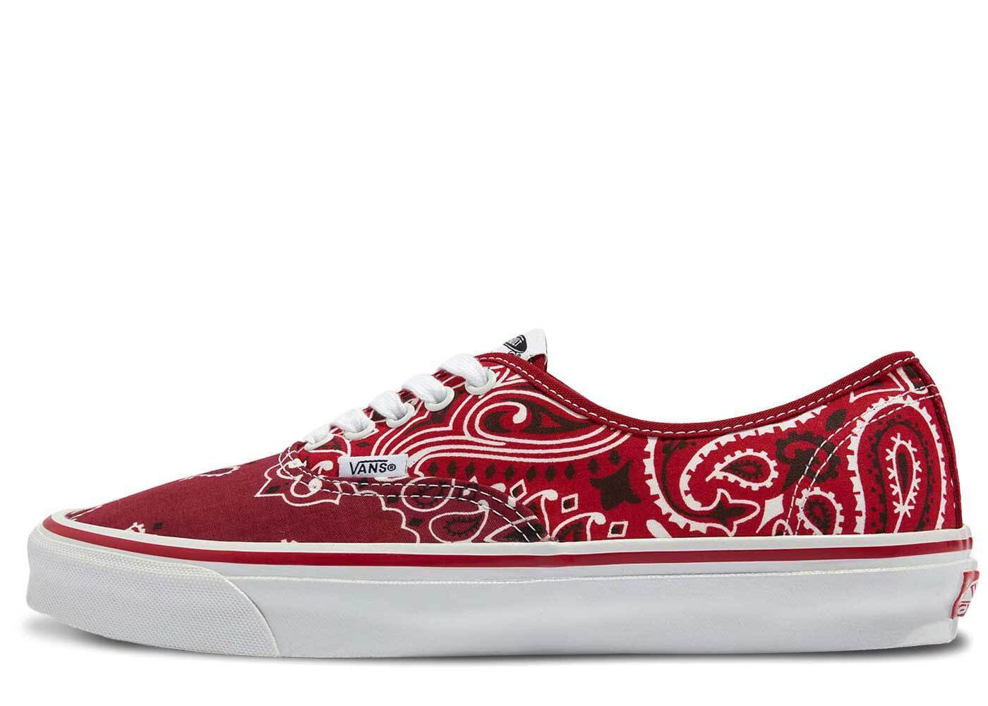 Bedwin and the Heartbreakers × Vans Vault UA OG Authentic LX Redの写真
