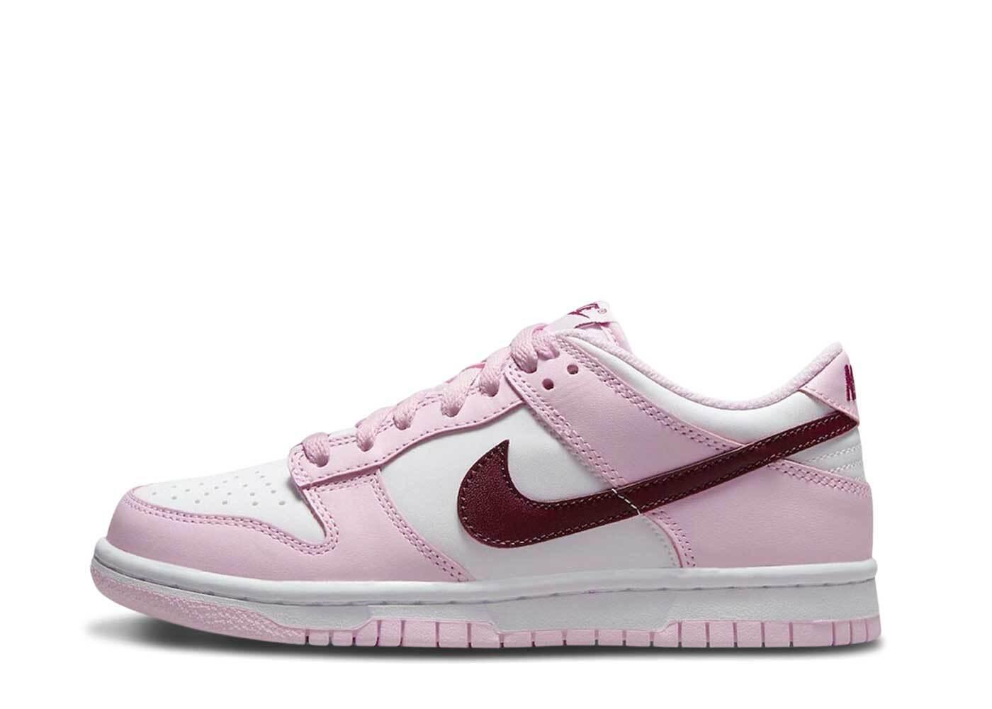 Nike Dunk Low White Pink GSの写真