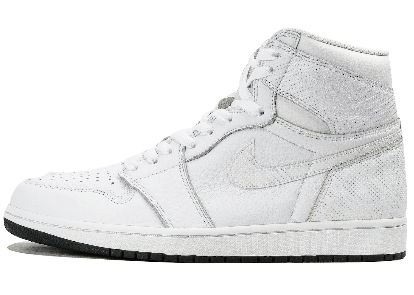 Jordan 1 Retro White Perforatedの写真