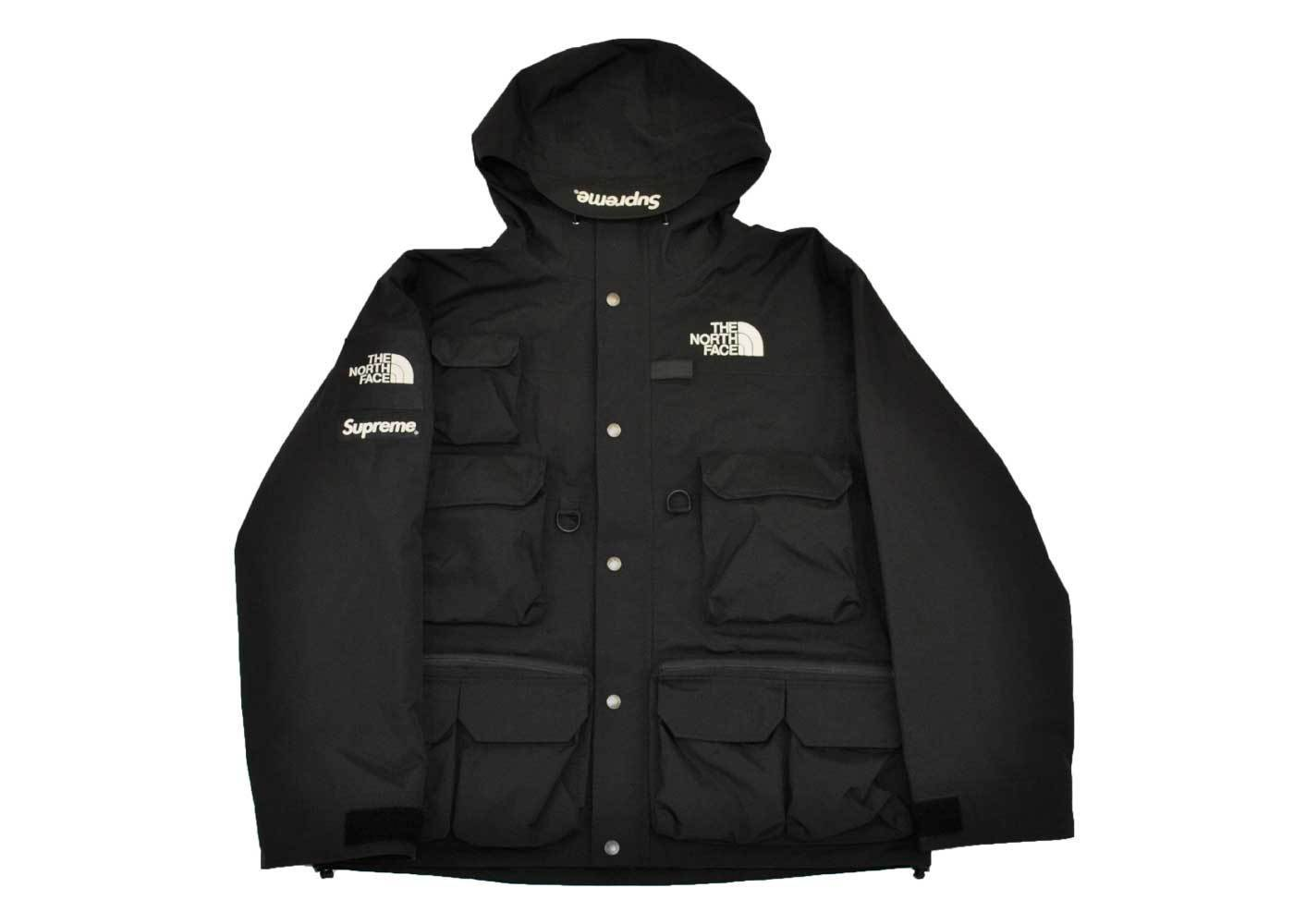 Supreme The North Face Cargo Jacket Blackの写真