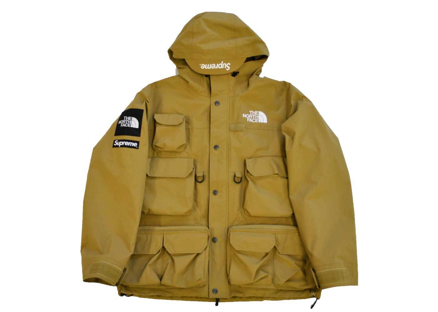 Supreme The North Face Cargo Jacket Goldの写真