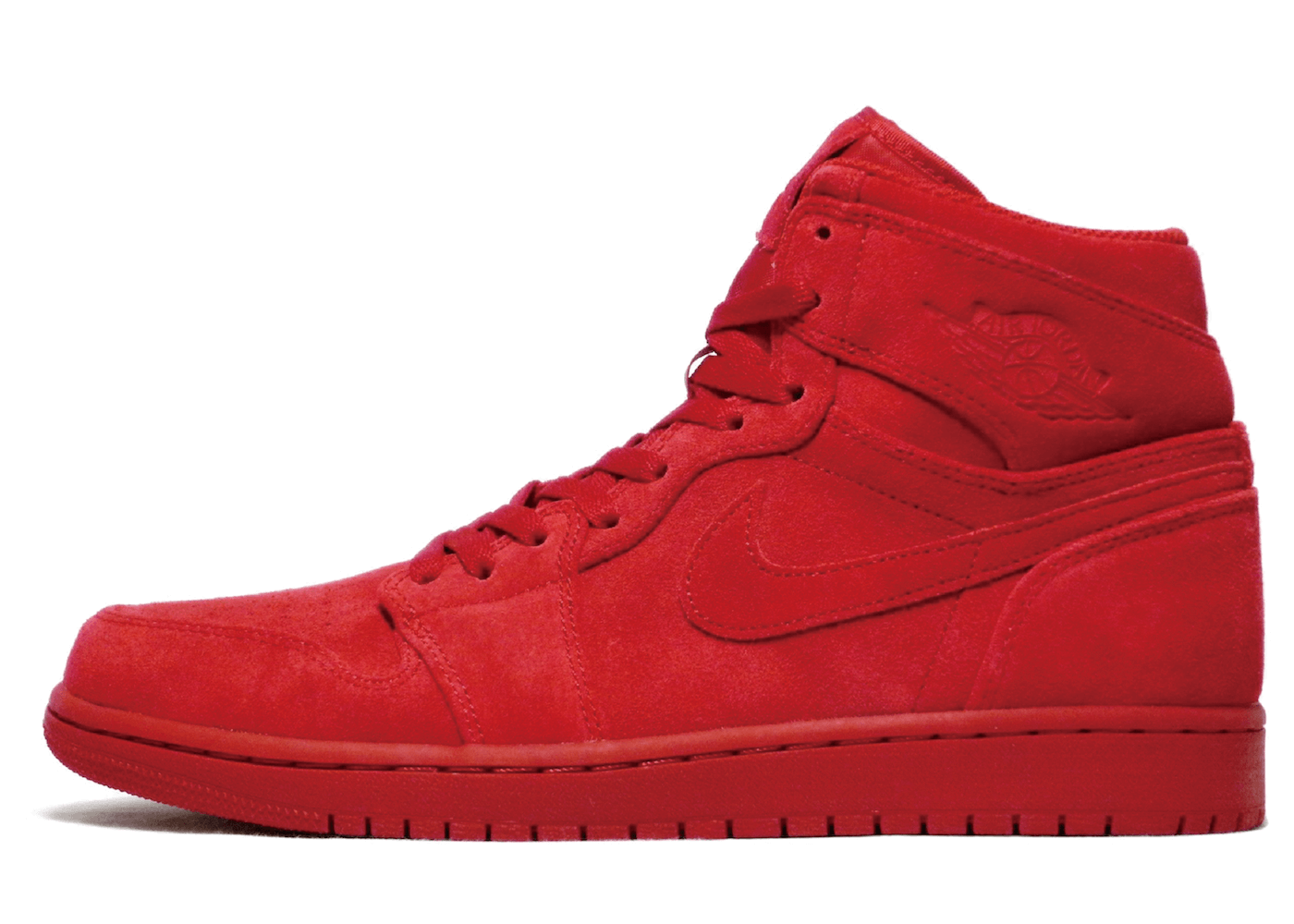 Jordan 1 Retro Red Suedeの写真