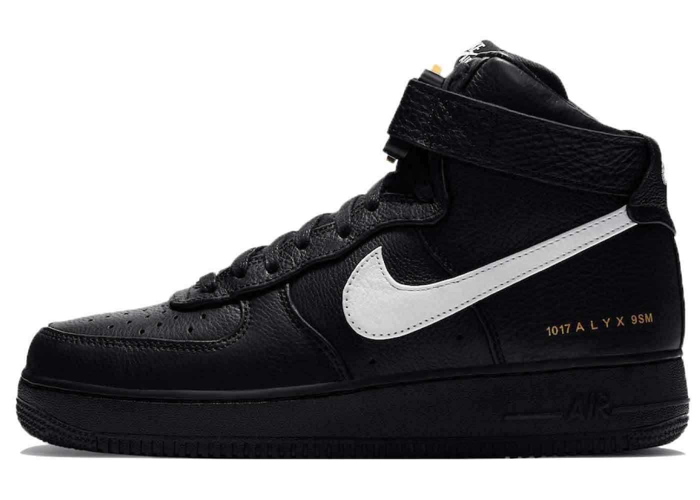 Alyx x Nike Air Force 1 High Black Whiteの写真