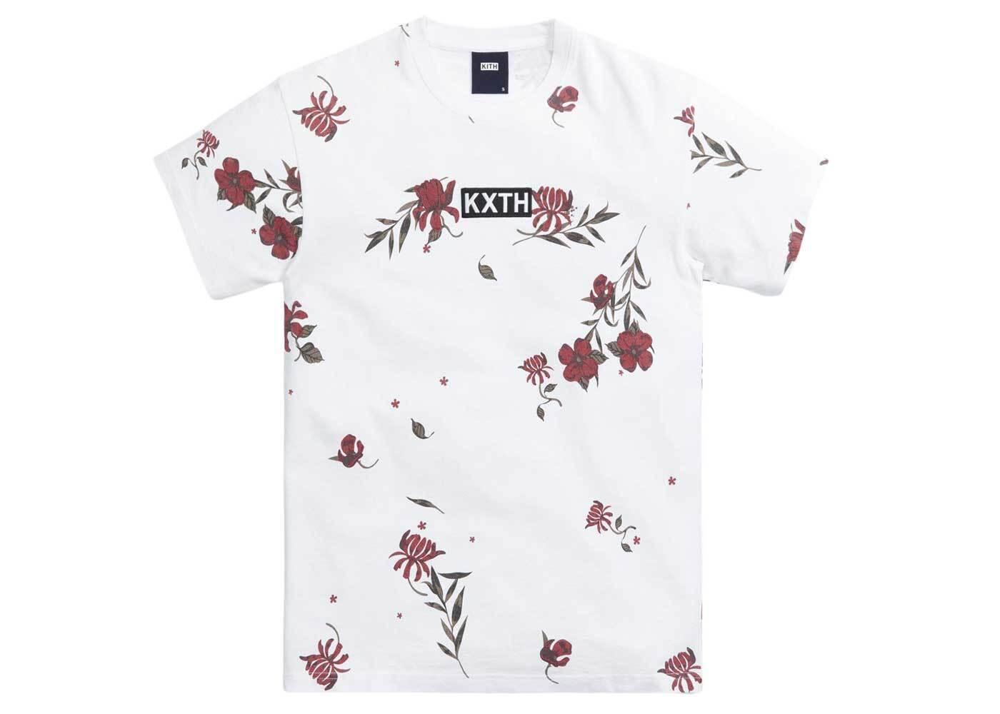 Kith Summer Floral Tee Whiteの写真
