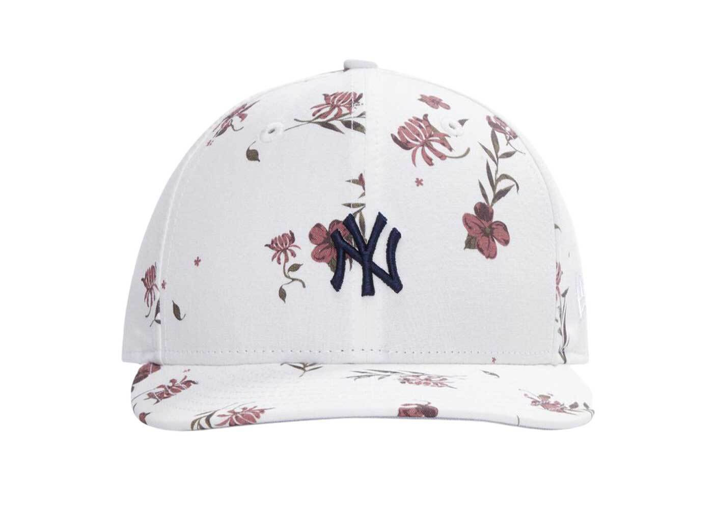 Kith for New Era Summer Floral 59Fifty Low Profile Hat Whiteの写真