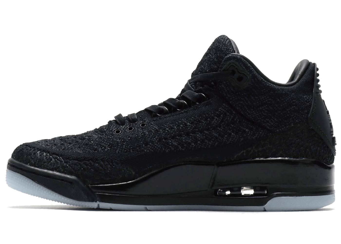 Nike Jordan 3 Retro Flynit Blackの写真