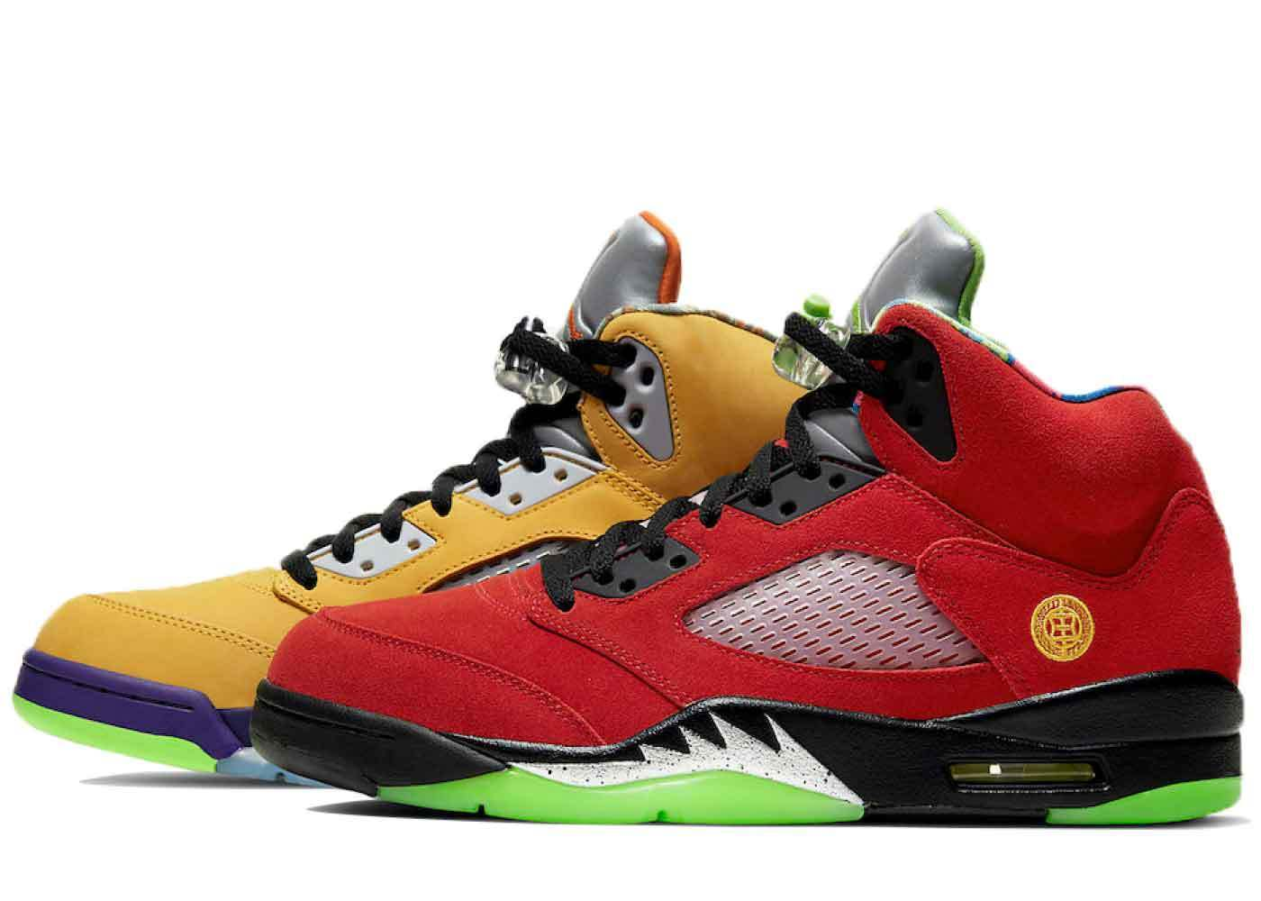 Nike Air Jordan 5 Retro What Theの写真