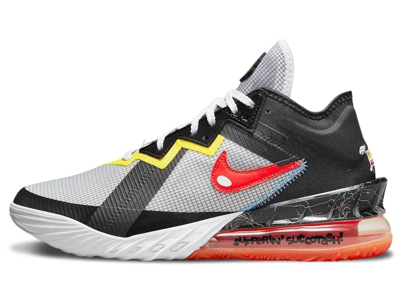 Nike Lebron 18 Low Sylvester vs Tweetyの写真