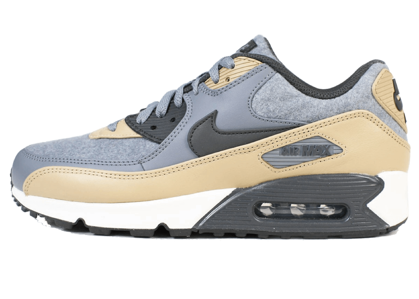 Air Max 90 Wool Cool Grey Mushroomの写真