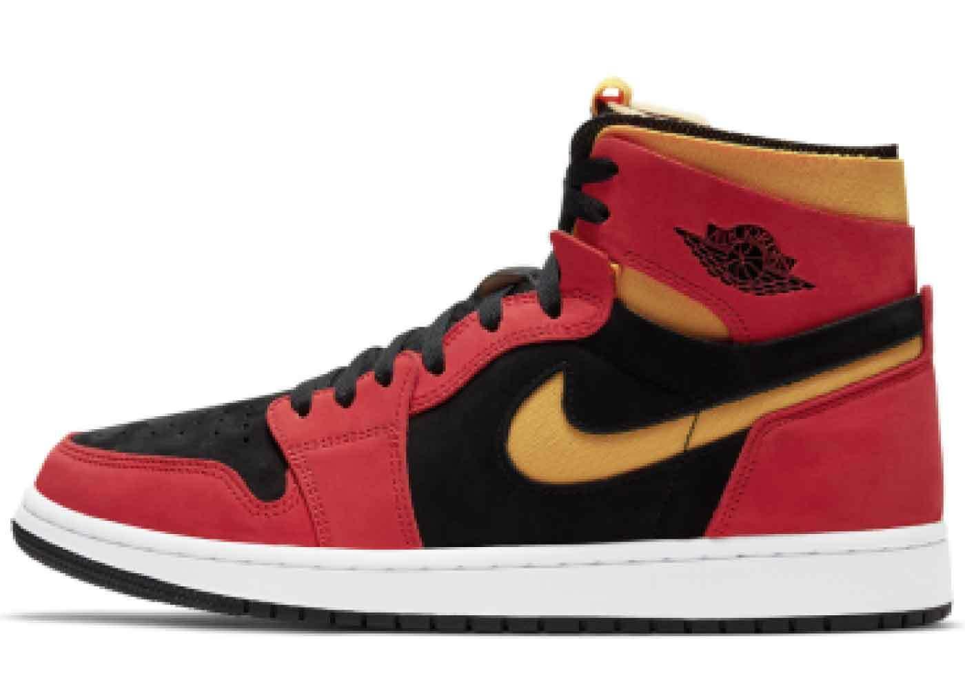 Nike Air Jordan 1 High Zoom Comfort Chile Redの写真