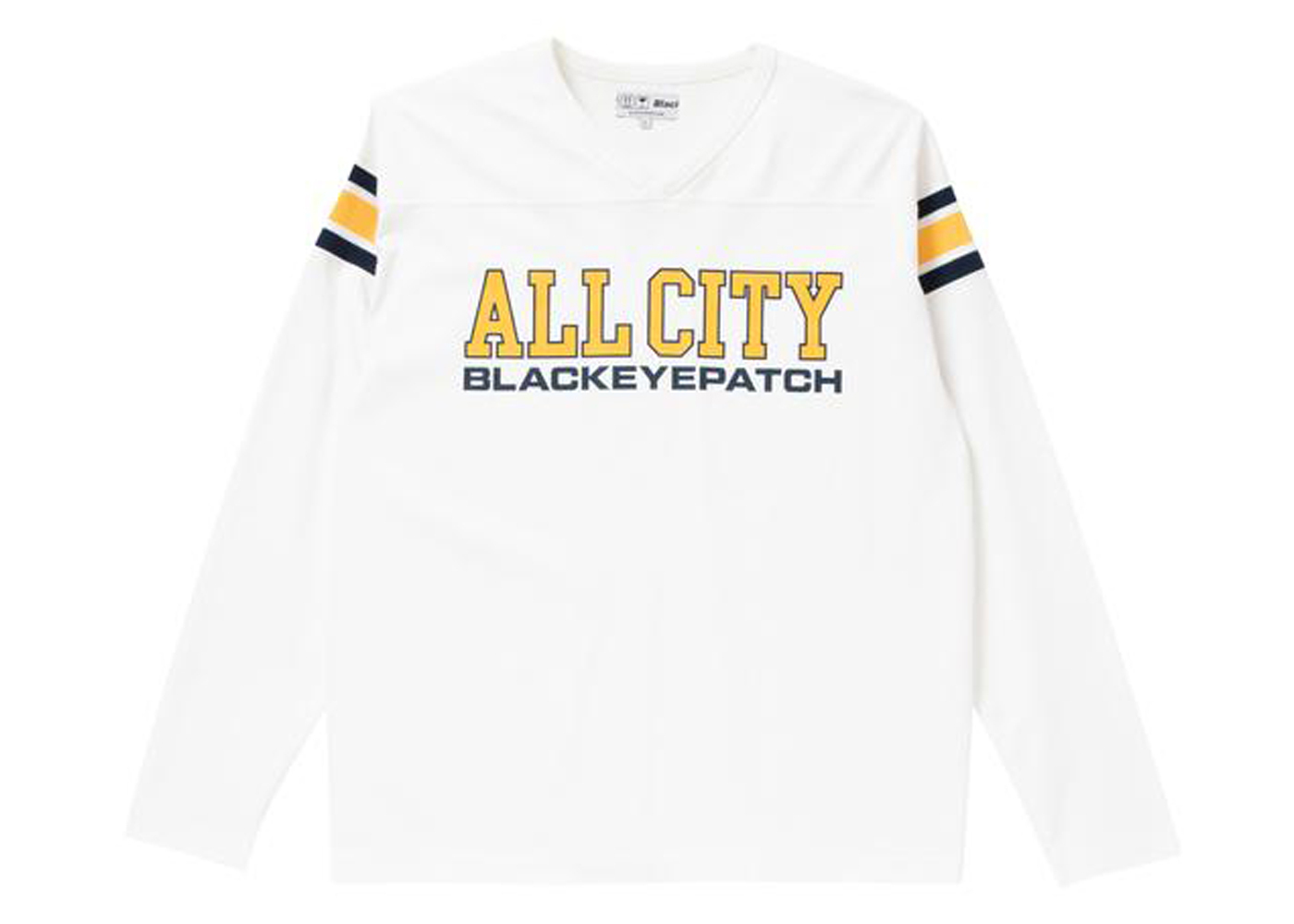The Black Eye Patch All City Football Heavy-Weight Tee White (FW21)の写真